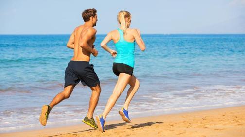Afbeeldingsresultaat voor jogging beach